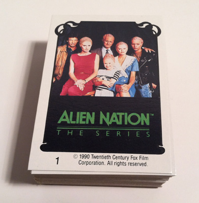 Alien Nation Card Set