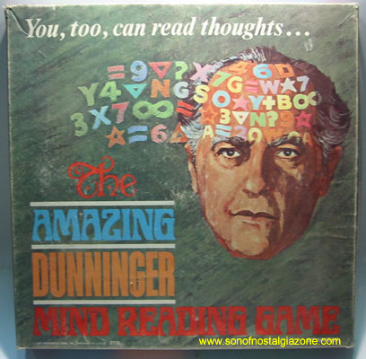 Amazing Dunninger Mind Reading Game