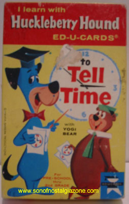 Huckleberry Hound Time Cards