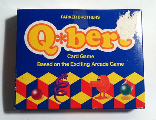 Q*Bert Card Game