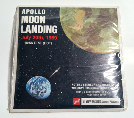 View Master Apollo Moon Landing B 663